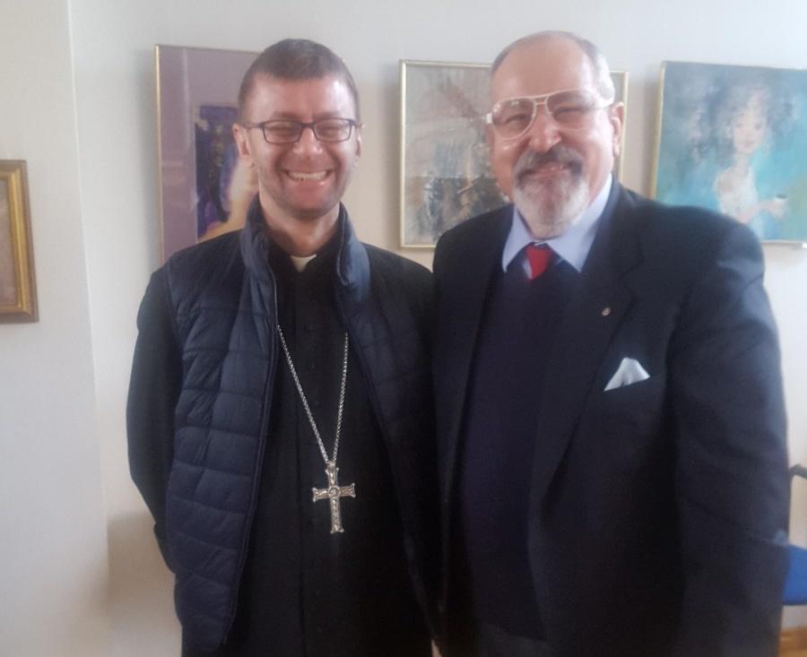Spotkanie z biskupem Edwardem Kawą we Lwowie