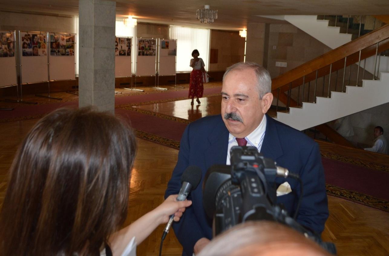 Wywiad dla telewizji ukraińskiej