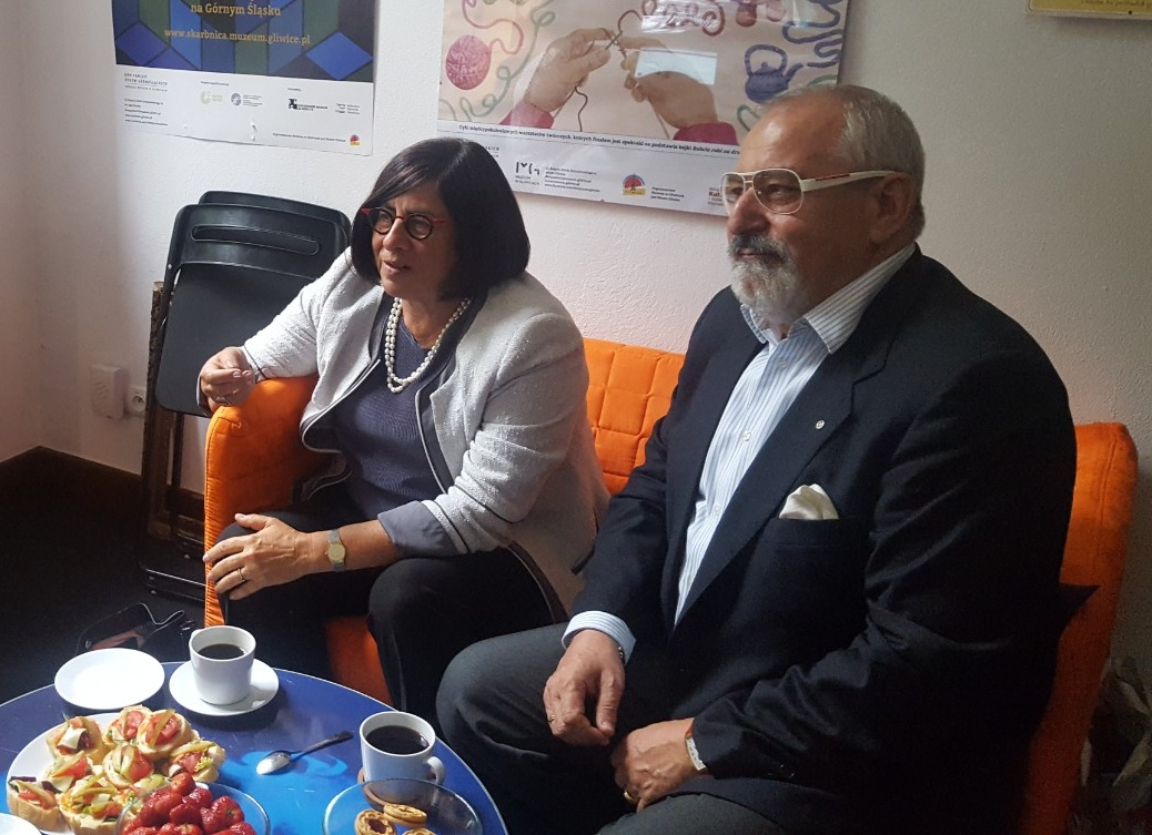 Spotkanie z ambasador Izraela