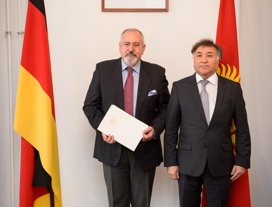 Druga nominacja na konsula honorowego Republiki Kirgiskiej
