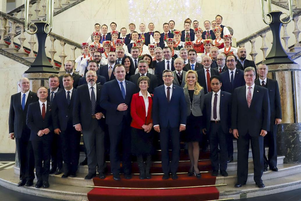 Doroczne spotkanie korpusu dyplomatycznego
