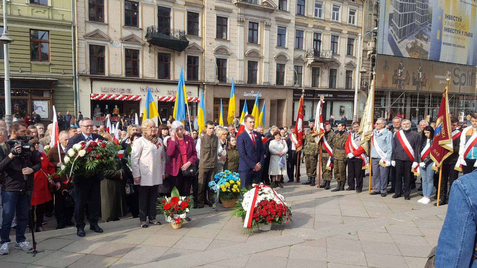 Obchody rocznicy Konstytucji 3 Maja we Lwowie