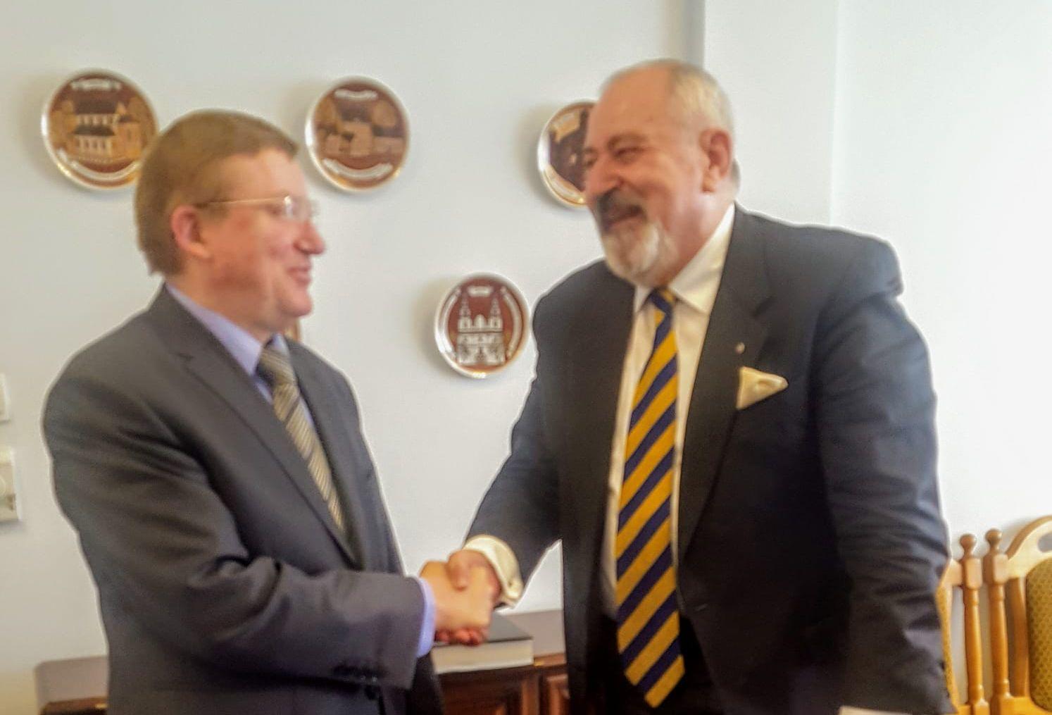 Spotkanie z Ambasadorem Nadzwyczajnym i Pełnomocnym Republiki Białoruś w Rzeczypospolitej Polskiej