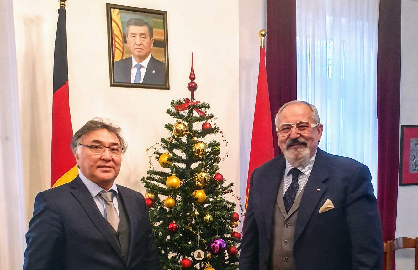 Spotkanie z Jego Ekscelencją Ambasadorem Kirgistanu Erinesem Otorbaevem