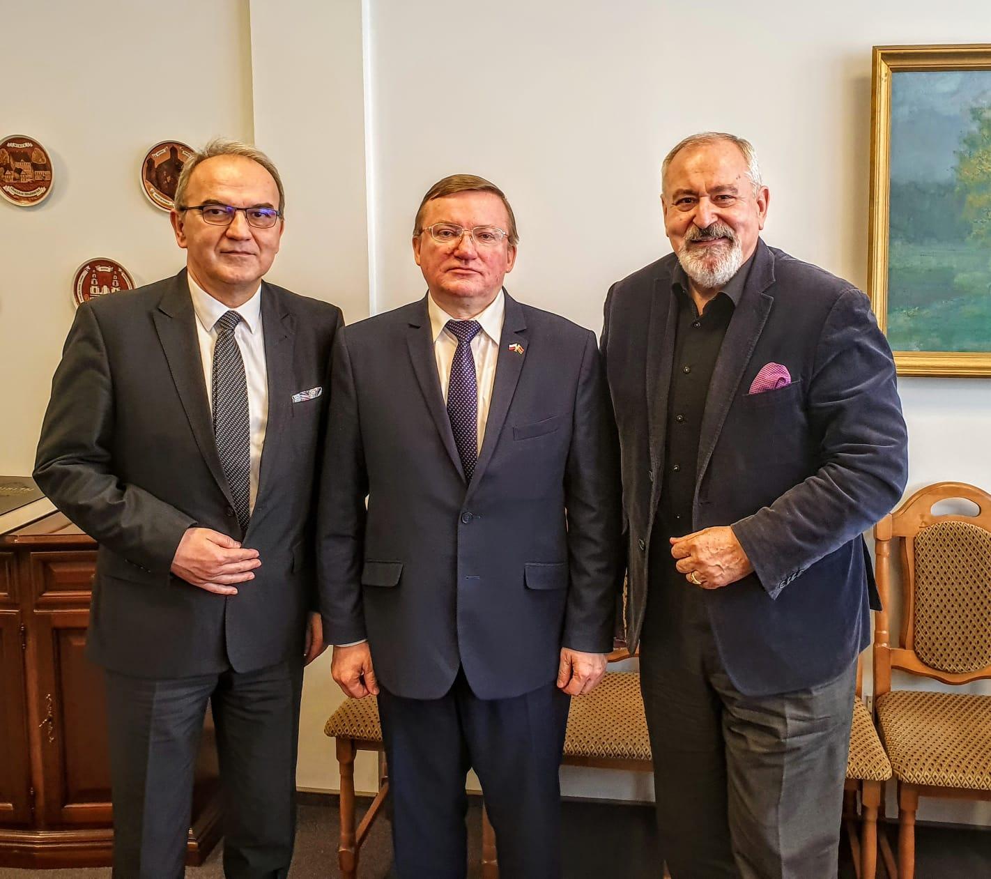 Spotkanie z Jego Ekscelencją Ambasadorem Władimirem Czuczewem