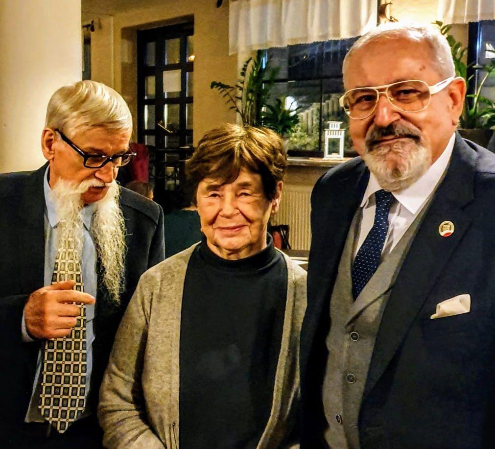 Spotkanie z Panią Zofią Romaszewską