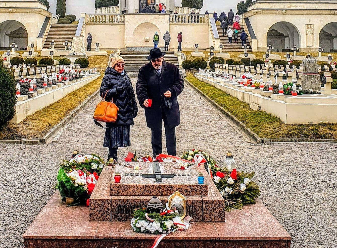 Wizyta na Cmentarzu Orląt Lwowskich