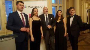 W trakcie przyjęcia opłatkowego w Krakowie