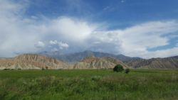 Przepiękne góry Kirgistanu