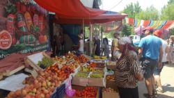 Targowisko w Kirgistanie