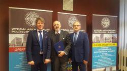 Podpisanie umowy z Politechniką Śląską