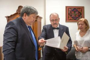 Nominacja w ambasadzie Kirgistanu w Wiedniu przez Jego Ekscelencję Ermeka Ibraimova
