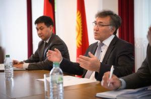 Ustalanie planu działania wspólnie z Jego Ekscelencją, Panem ambasadorem Erinesem Otorbajewem