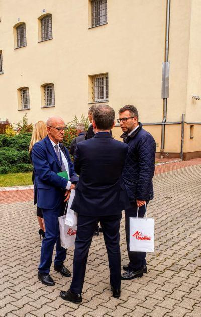 Pośród przybyłych był także Andrzej Kołodziej.