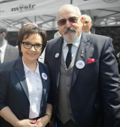 Marszałek Sejmu RP pani Elżbieta Witek